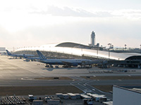 We provide security services for Kansai International Airport